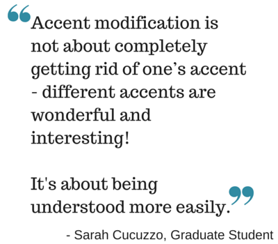 accent modification is not about completely